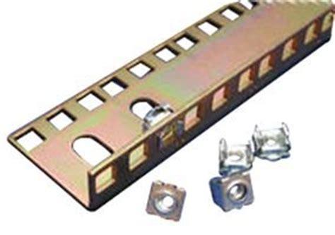 Rack Test Rails by Hammond Cpr35szpl Square Rail Zinc Rack