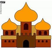 Castillo Alad&237n Para Colorear Pictures