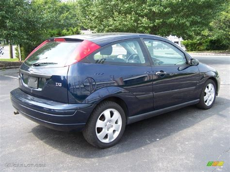 2002 ford focus zx3 twilight blue metallic 2002 ford focus zx3 coupe exterior