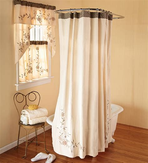 window shower curtains shower curtains with valance matching window curtains images