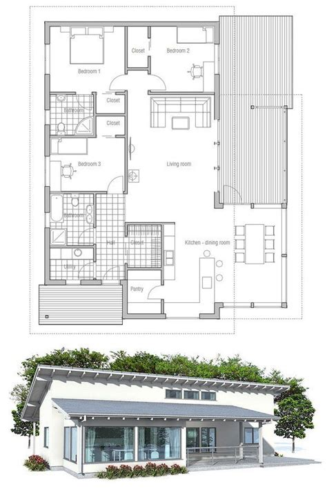 small affordable house plans 63 best images about modern house plans on pinterest