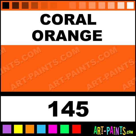 coral orange classic paints 145 coral orange paint coral orange color