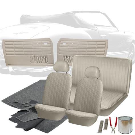 Vw Interior Kits by Deluxe Tweed Cloth Vw Interior Kit Karmann Ghia