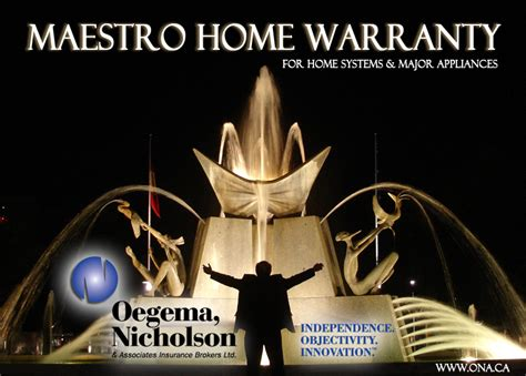 introducing the maestro home warranty for home systems