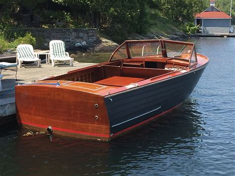 old century wooden boats classic antique wooden boats for sale port carling boats