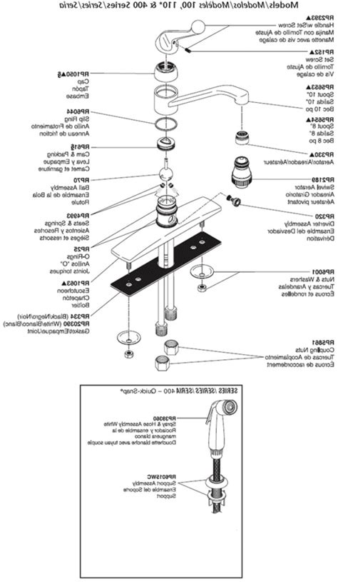 delta kitchen faucet parts diagram delta faucet repair parts diagram kitchen replacement with