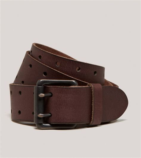 aeo perforated leather belt american eagle outfitters