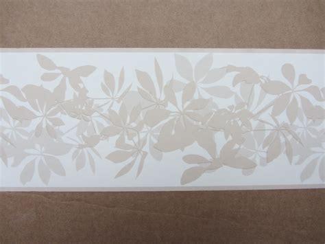self adhesive wallpaper borders uk modern shadows latte wallpaper border self adhesive hallway stairs flower new ebay