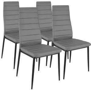 photo chaise de cuisine grise