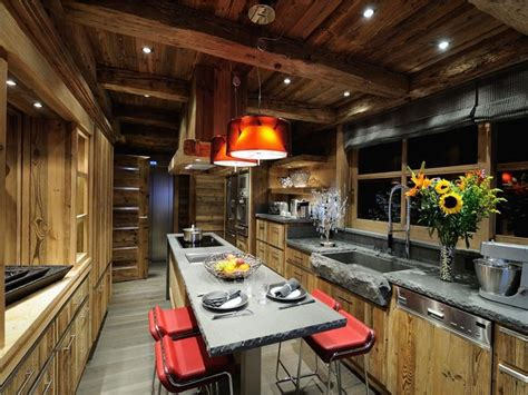 rustic meets modern   kitchen   significantly