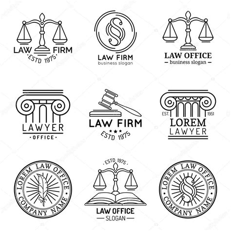 lawyer logo vector free logos attorney signs stock vector 169 vladayoung 87208156