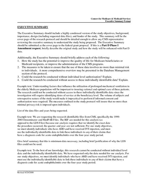 apa format executive summary template resume executive summary