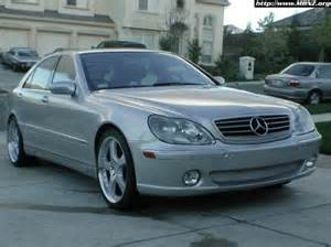 mpowers 2002 mercedes s class specs photos
