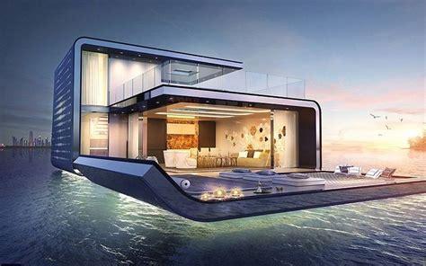 foto ville con giardino dubai entro il 2018 pronte le 125 ville galleggianti con