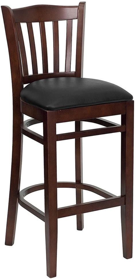 vertical slat wood bar stool for sale restaurant barstools wood bar stool in bar stools style hercules mahogany finished vertical slat back wooden