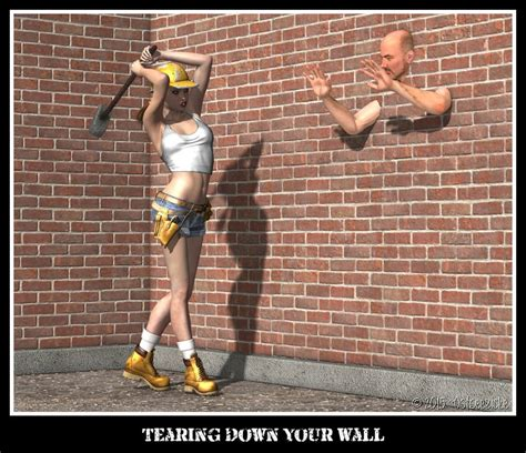 tearing a wall tearing your wall by ostseezicke on deviantart