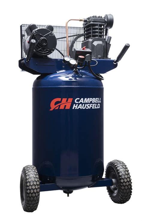 air compressor 30 gallon portable cbell hausfeld vt6358
