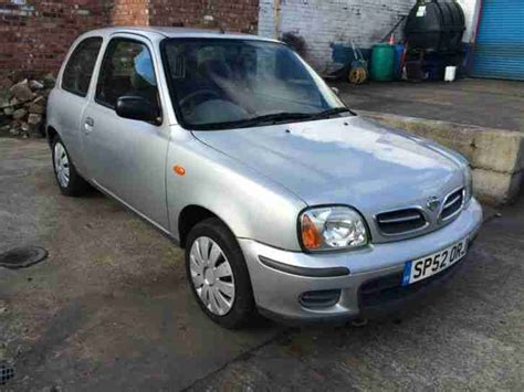 silver nissan car nissan micra silver 2002 car for sale