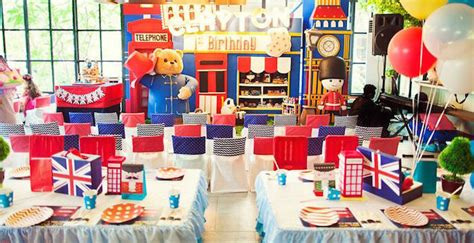 Karas  Ee  Party Ee    Ee  Ideas Ee   Paddington Bear London Themed