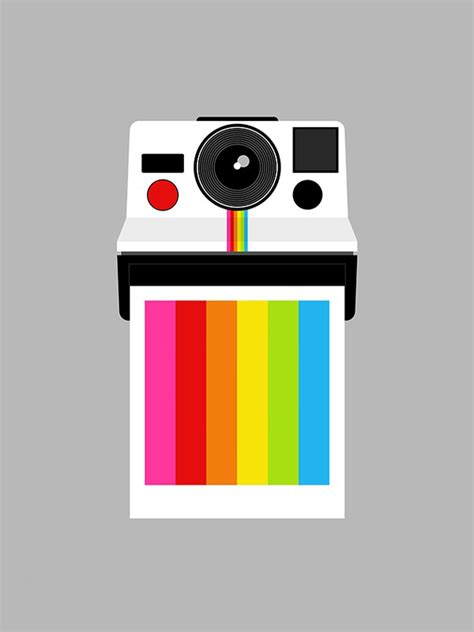polaroid rainbow polaroid colossal