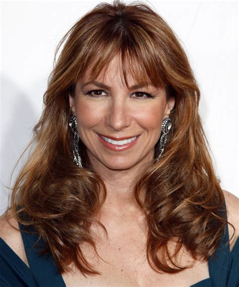 Jill Zarin Long Wavy Casual Hairstyle