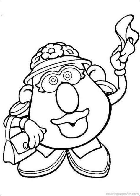 17 Best Ideas About Mr Potato Head On Pinterest Potato Mrs Potato Coloring Pages