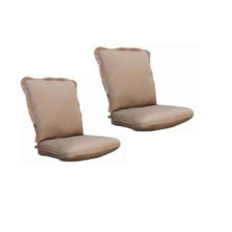 Thomasville Patio Furniture Replacement Cushions Thomasville Messina Canvas Cocoa Replacement Outdoor Dining Chair Cushion 2 Pack Discontinued