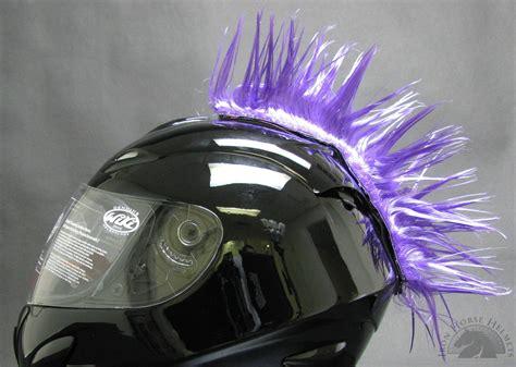 motocross helmet mohawk purple motorcycle helmet mohawk
