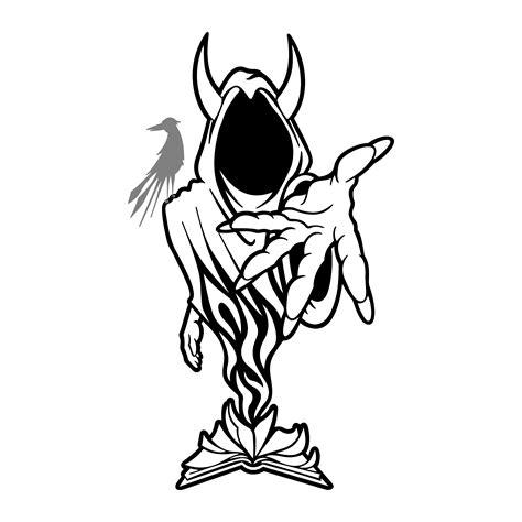 wraith shangri la stencil by loonatiknik on deviantart