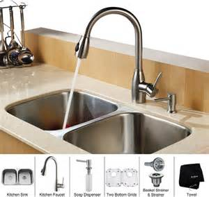 32 Inch Undermount Kitchen Sink Kraus 32 Inch Undermount Bowl Stainless Steel Kitchen Sink With Kitchen F Modern Kitchen