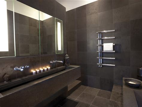 bisque radiators contemporary bathroom by