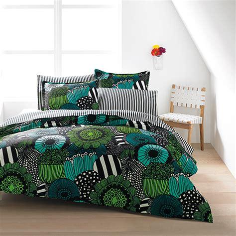 marimekko bedding marimekko siirtolapuutarha green percale bedding