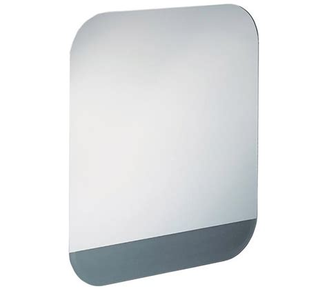 anti steam bathroom mirror ideal standard tonic ii anti steam mirror with led and