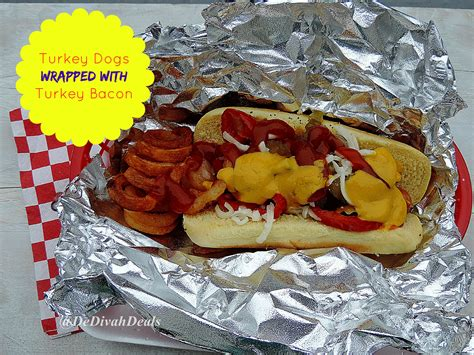 can dogs eat turkey bacon switch to turkey dogs wrapped with bacon dedivahdeals