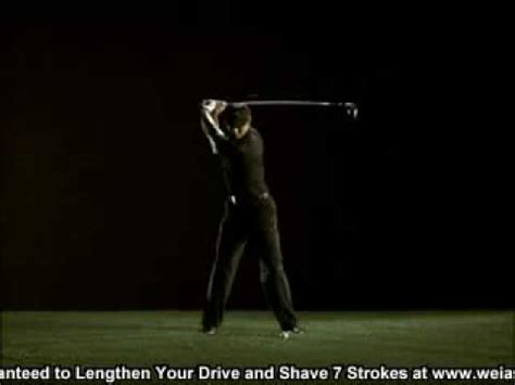 tiger swing slow motion better golf swing youtube
