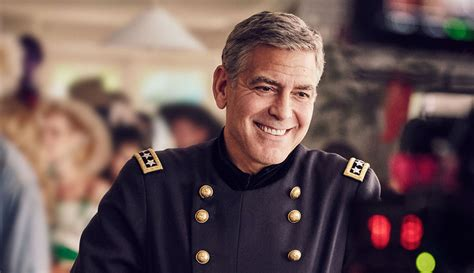 nespresso commercial actress bear george clooney gets into costume for nespresso caign