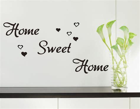 home sweet home wall decor home sweet home wall art quote vinyl wall sticker