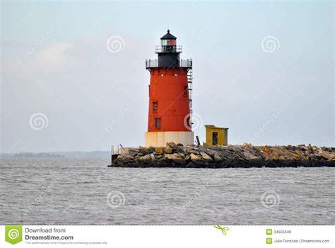 cape henlopen christmas lights cape henlopen lighthouse stock photo image of breakwater
