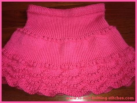 easy knit skirt pattern dresses and skirts for children knitting patterns in the