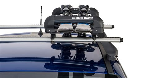 Wakeboard Roof Rack by Ski Carrier And Fishing Rod Holder Holds 2 Skis Or 1