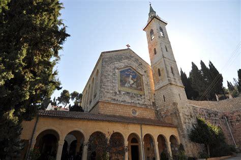 for church ein karem and barluzzi s church of the visitation israel