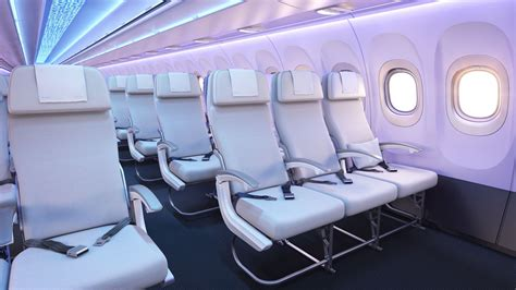 airbus a320 cabin new airbus a320 airspace interior set to debut in 2020