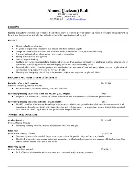 Resume Sle Updated 2015 New Updated Resume Jan 2015