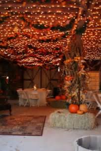 barn theme decorations autumn wedding flowers pumpkins fall barn reception