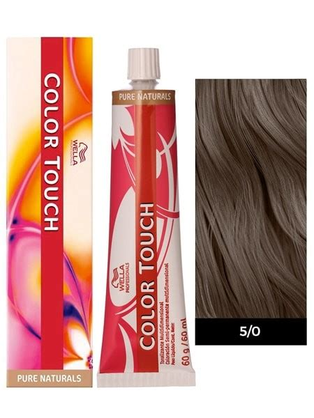 wella demi permanent hair color wella color touch demi permanent hair color 5 0 light brown