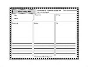 Story map template for first grade worksheets for kids teachers