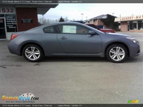 grey nissan altima coupe 2010 nissan altima 2 5 s coupe ocean gray charcoal photo