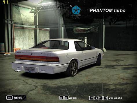 chrysler phantom need for speed most wanted chrysler phantom turbo lebaron