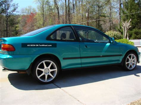1994 honda civic coupe ex 1994 honda civic ex coupe