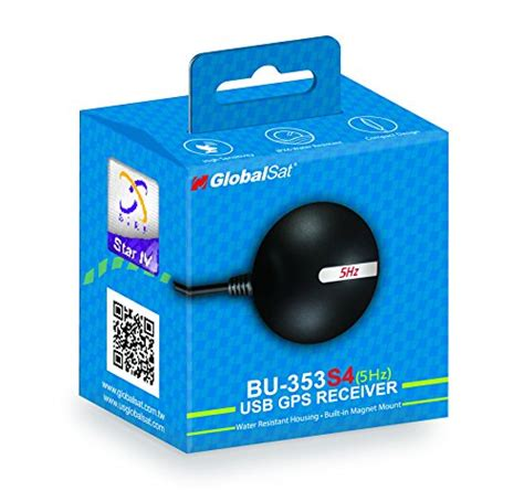 Gps Micro Usb Interface Nd105c Receiver Black globalsat bu 353 s4 5hz usb gps receiver black desertcart